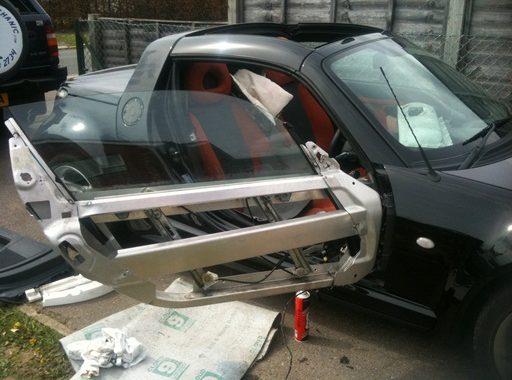 Car door electronics