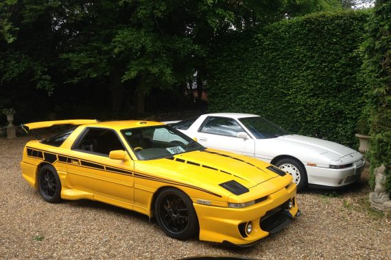 mk3 supra yellow and white