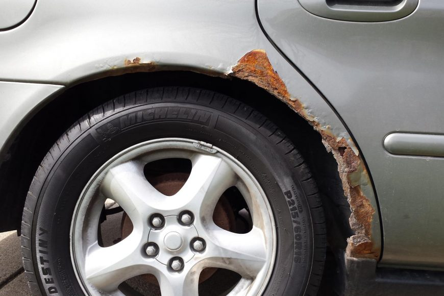 How to Prevent Rusty Wheel Arches