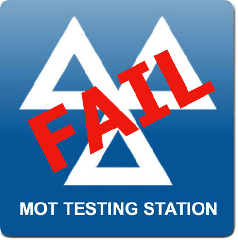 Failed MOT but you Have the Right to Leave the Garage