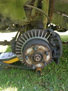 Broken Brake Disc